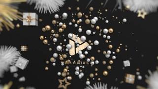 لوگوموشن کریسمس طلایی