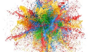 قالب لوگوموشن انفجار رنگ ها