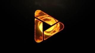 قالب لوگوموشن گرداب آتش