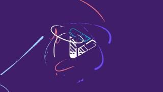 قالب لوگوموشن خطوط رنگارنگ